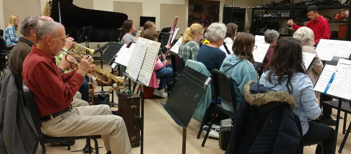 Eastern Shore Wind Ensemble to 'Let it Snow' Sunday