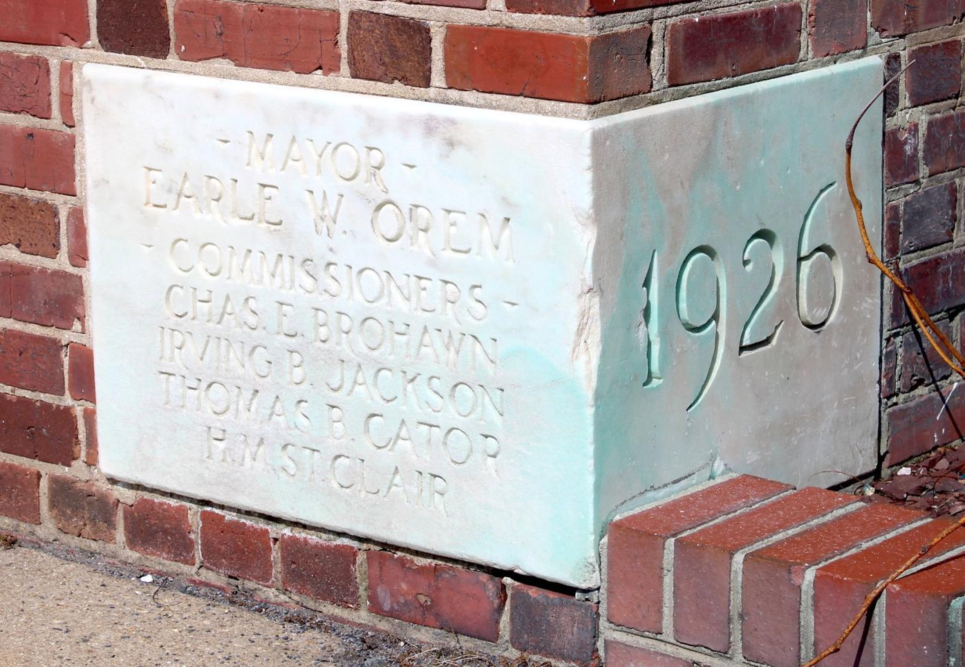 Cambridge City Hall Cornerstone