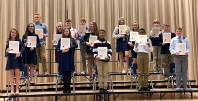 Students inducted into Honor Society