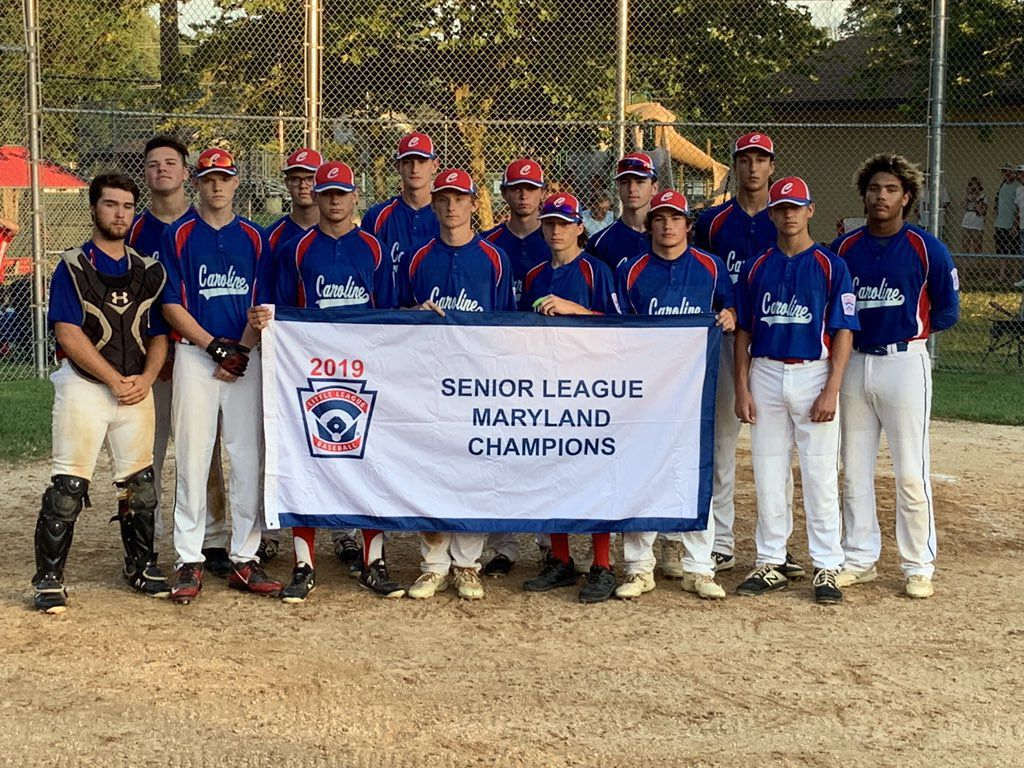 2019 Maryland Senior League Baseball Championship: Caroline 8, Rising Sun 7