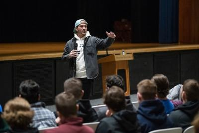 Renowned speaker Tony Hoffman to address local students and leaders