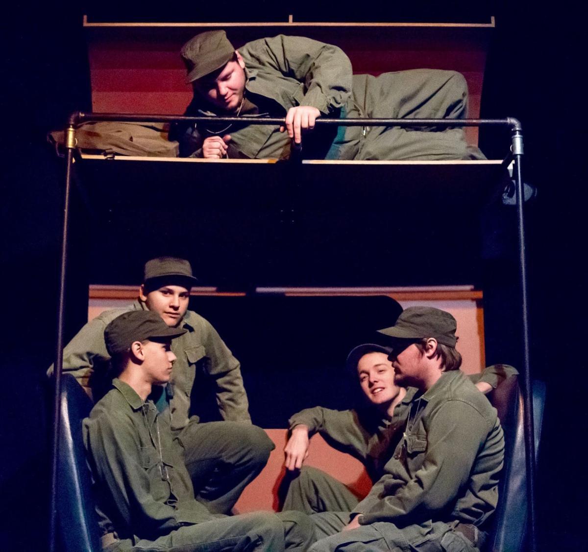Biloxi Blues Opens At Church Hill Theatre Jan 19 Spotlight