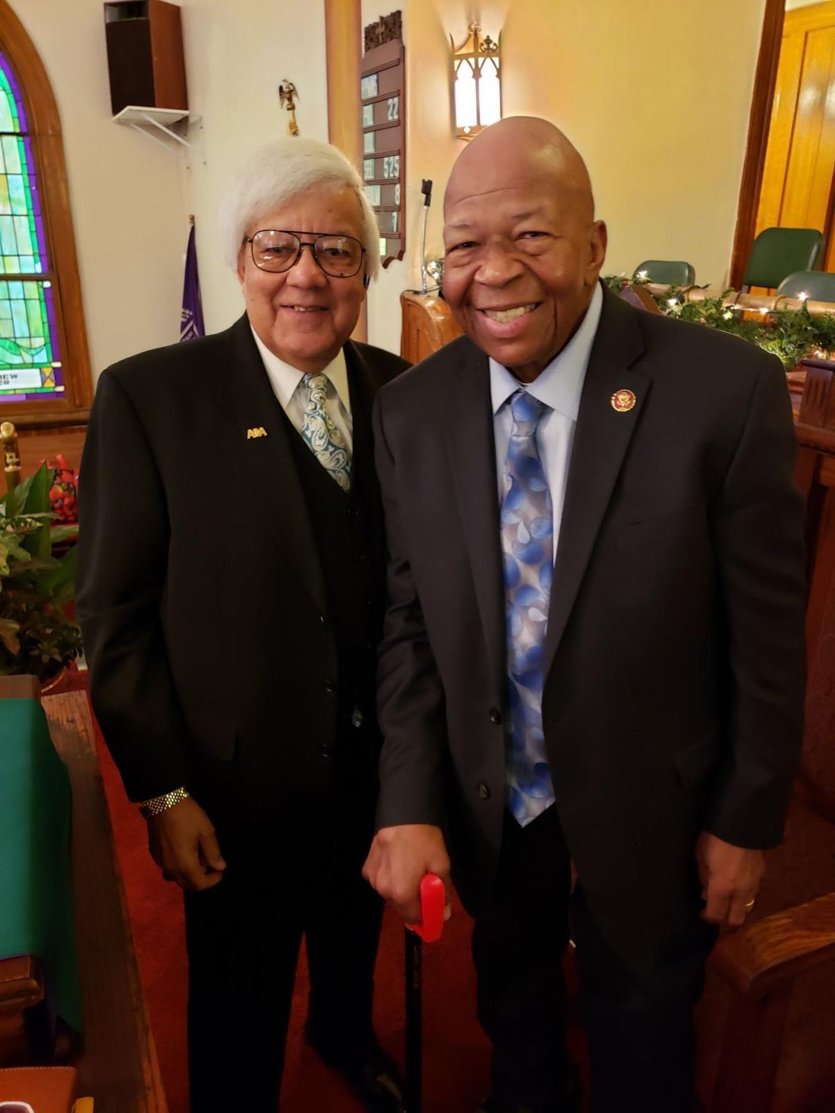 Congressman Cummings stresses education for all