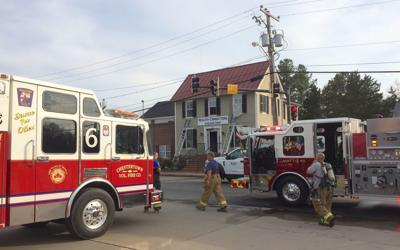 Fire closes Route 213 during evening rush hour