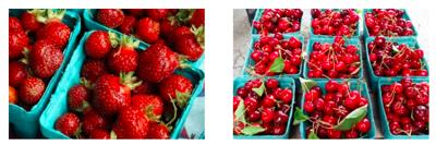 Fresh, local fruit