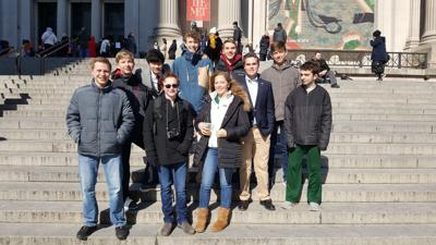 Gunston's Model UN Team competes in NYC