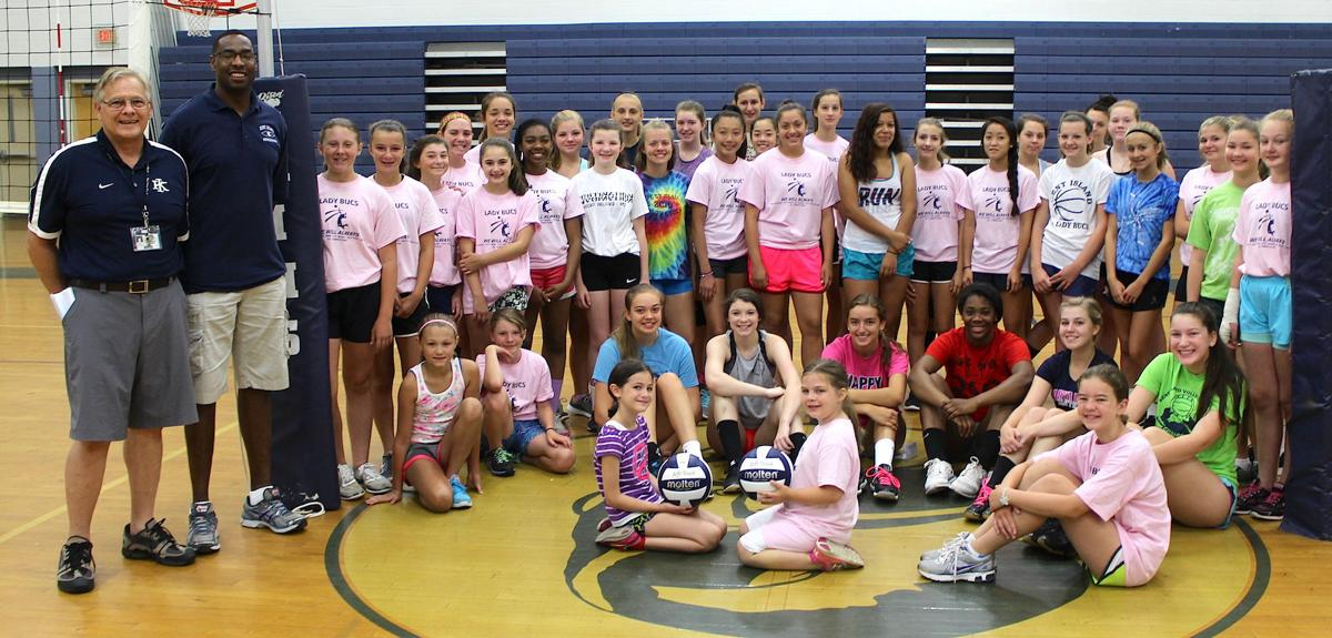 Volleyball Camp '16
