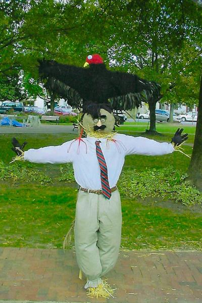 Scarecrows, pumpkins to decorate downtown