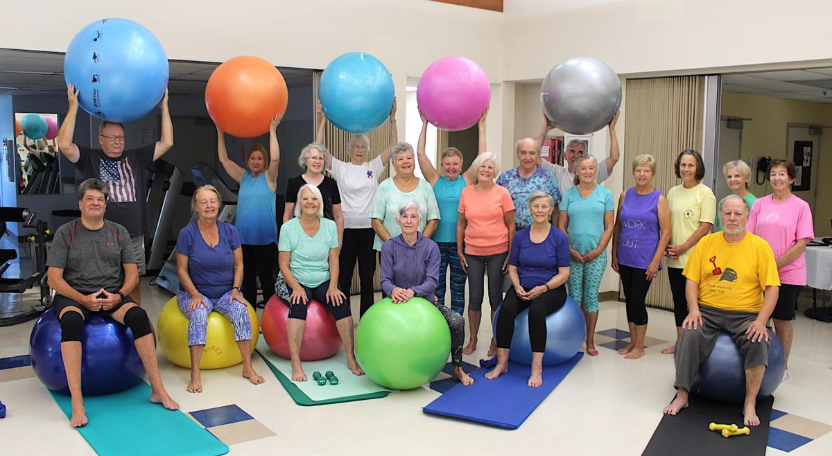 Seniors having a ball staying fit | Spotlight | myeasternshoremd com