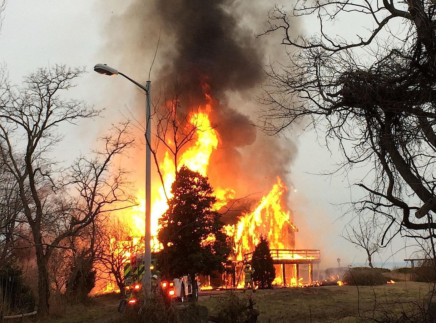 Tower Gardens Fire