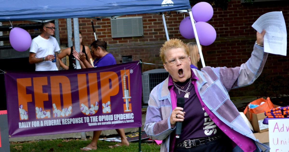 Fed Up! Rally for Overdose Awareness Day