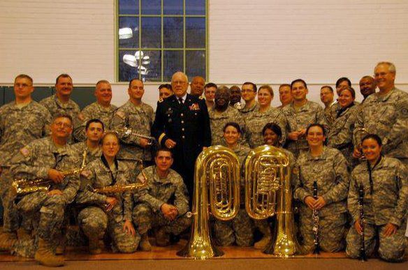 229th with General Fretterd