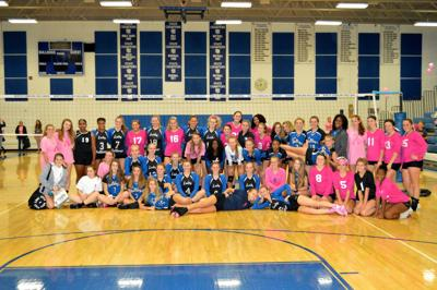 """North Caroline, Colonel volleyball teams to host """"Dig Pink"""" Breast Cancer Awareness Rally"""