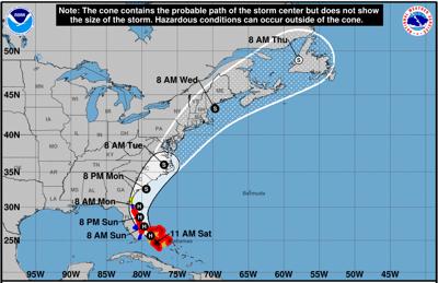 Marylanders urged to monitor Hurricane Isaias