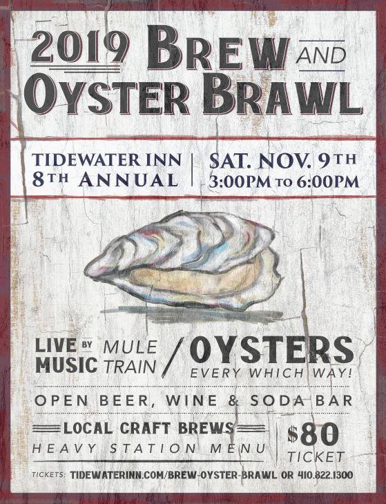 Brew & Oyster Brawl Poster