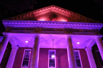 Kent County Courthouse to light up purple for September