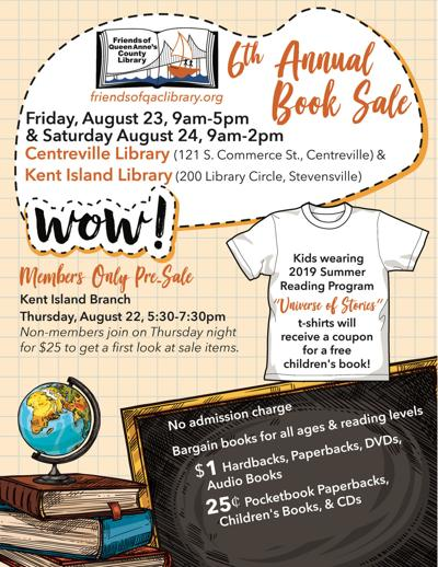 Library Book Sale to be held Aug. 23-24