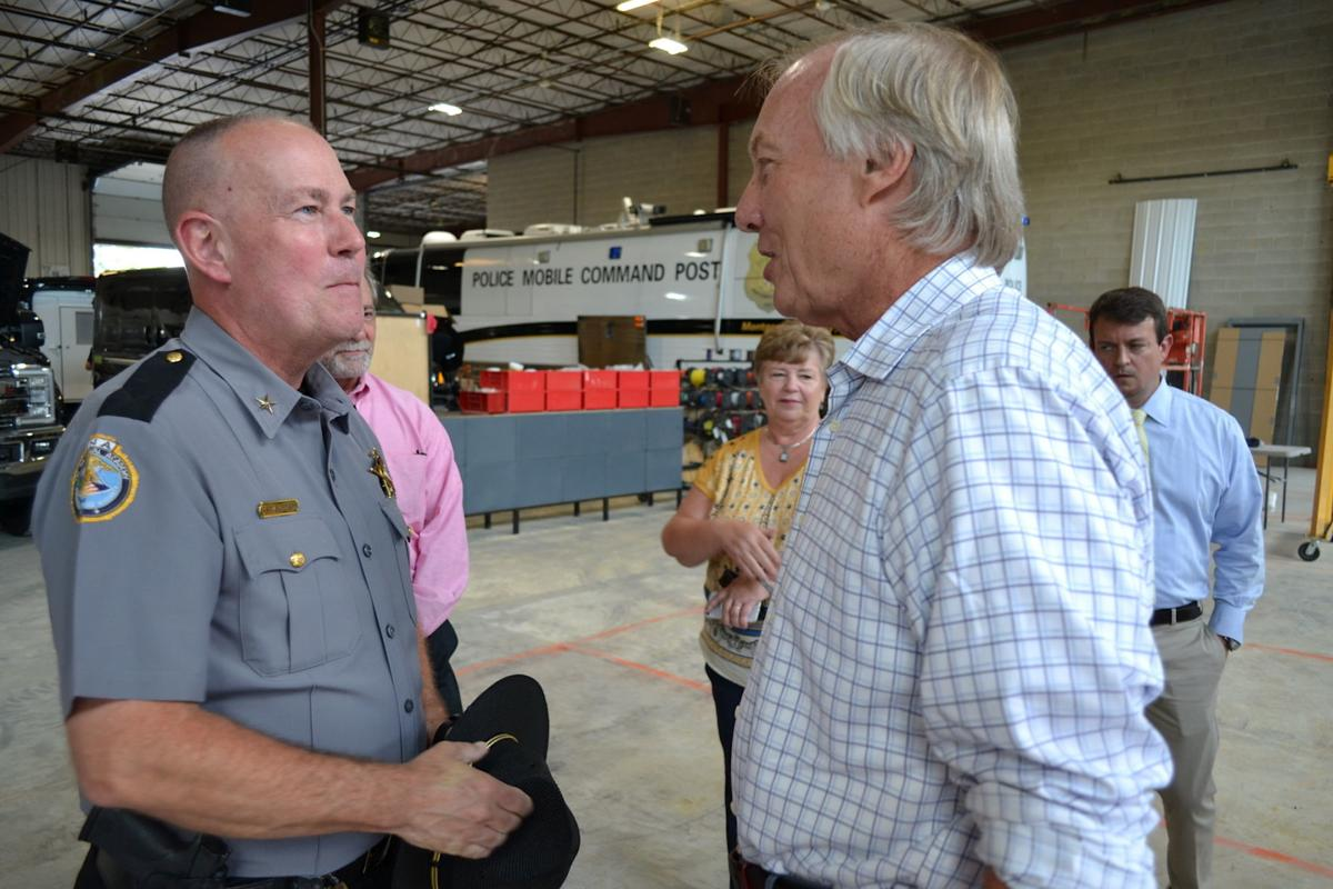 Comptroller Peter Franchot tours TechOps Specialty Vehicles in Stevensville