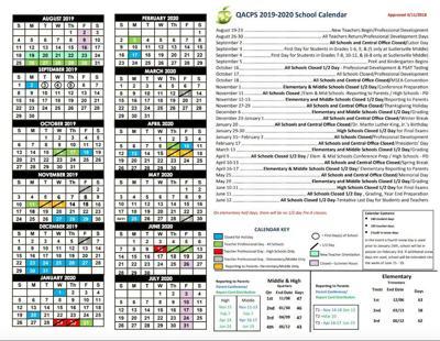 Vote on school calendar