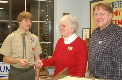 Brohawn donates money to historical society
