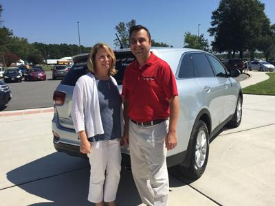 DCPS teacher of the year gets new wheels