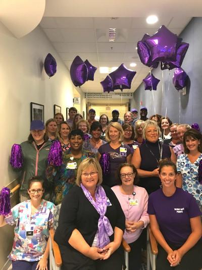 UM Shore Regional Health supports Go Purple campaign systemwide