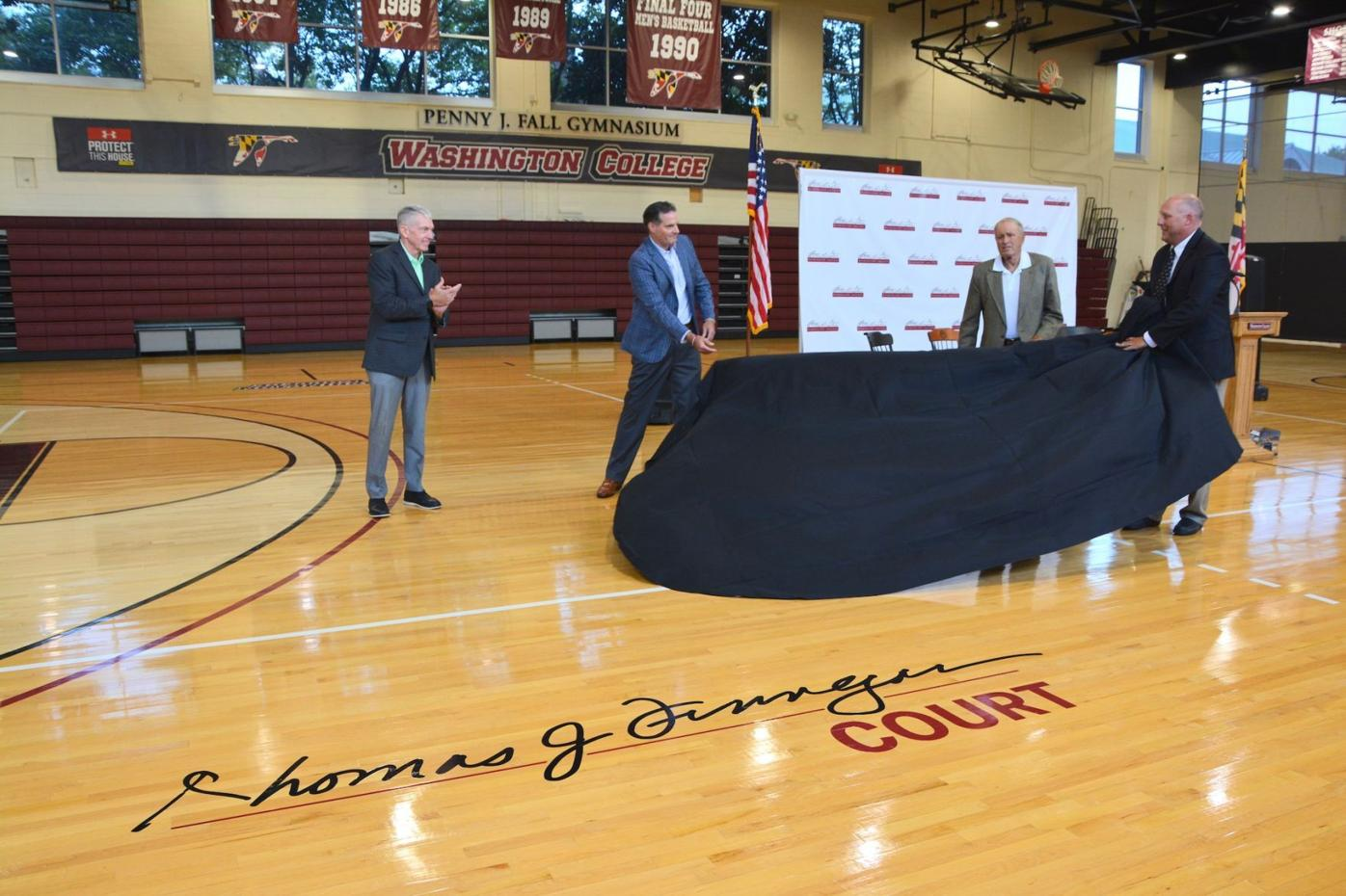 Tribute to Finnegan includes basketball court dedication