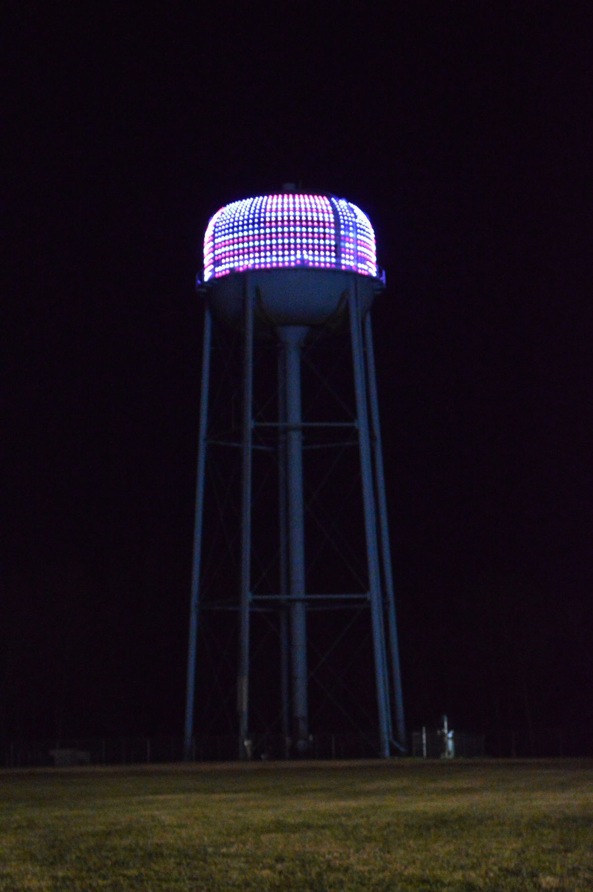 Federalsburg Water Tower Lighting