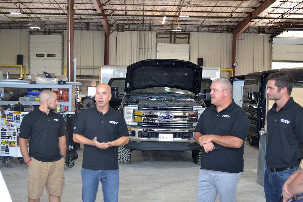 Health department lands outreach vehicle