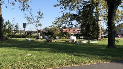 Cambridge Wawa homeless encampment
