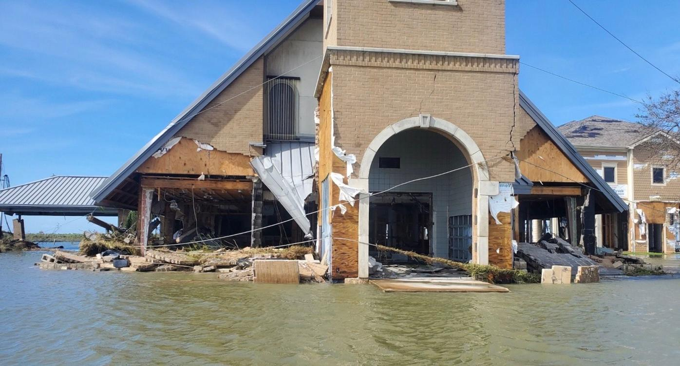 Locals organize hurricane relief for sister county