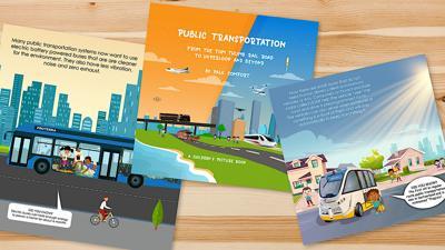 Comfort writes children's book on transportation