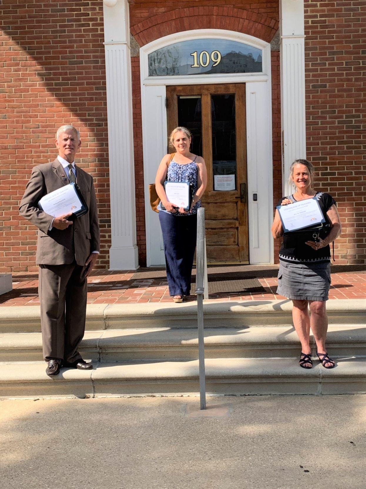 CASA of Caroline welcomes three new volunteers