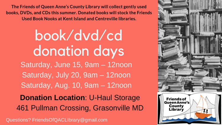 Friends of Library Donation Days