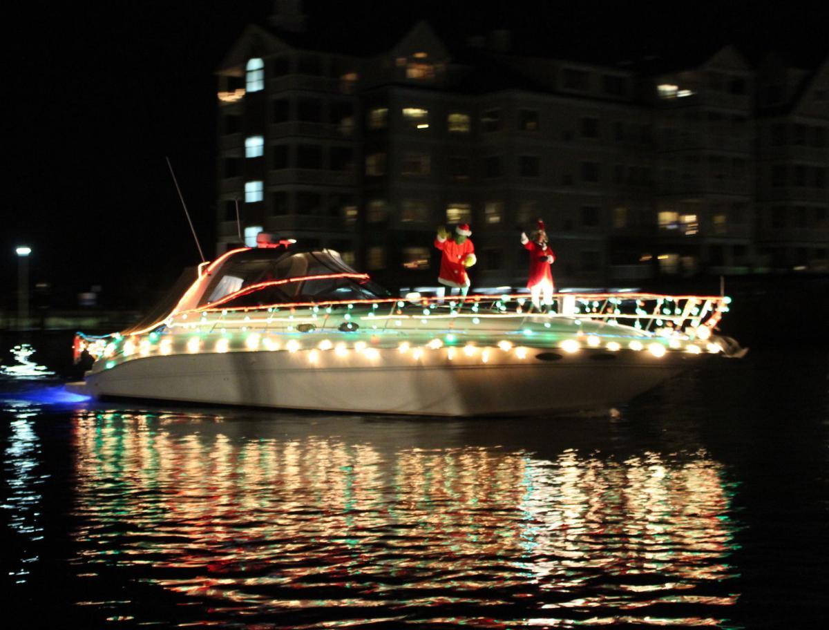 Christmas Boat Parade Sails In Choptank News