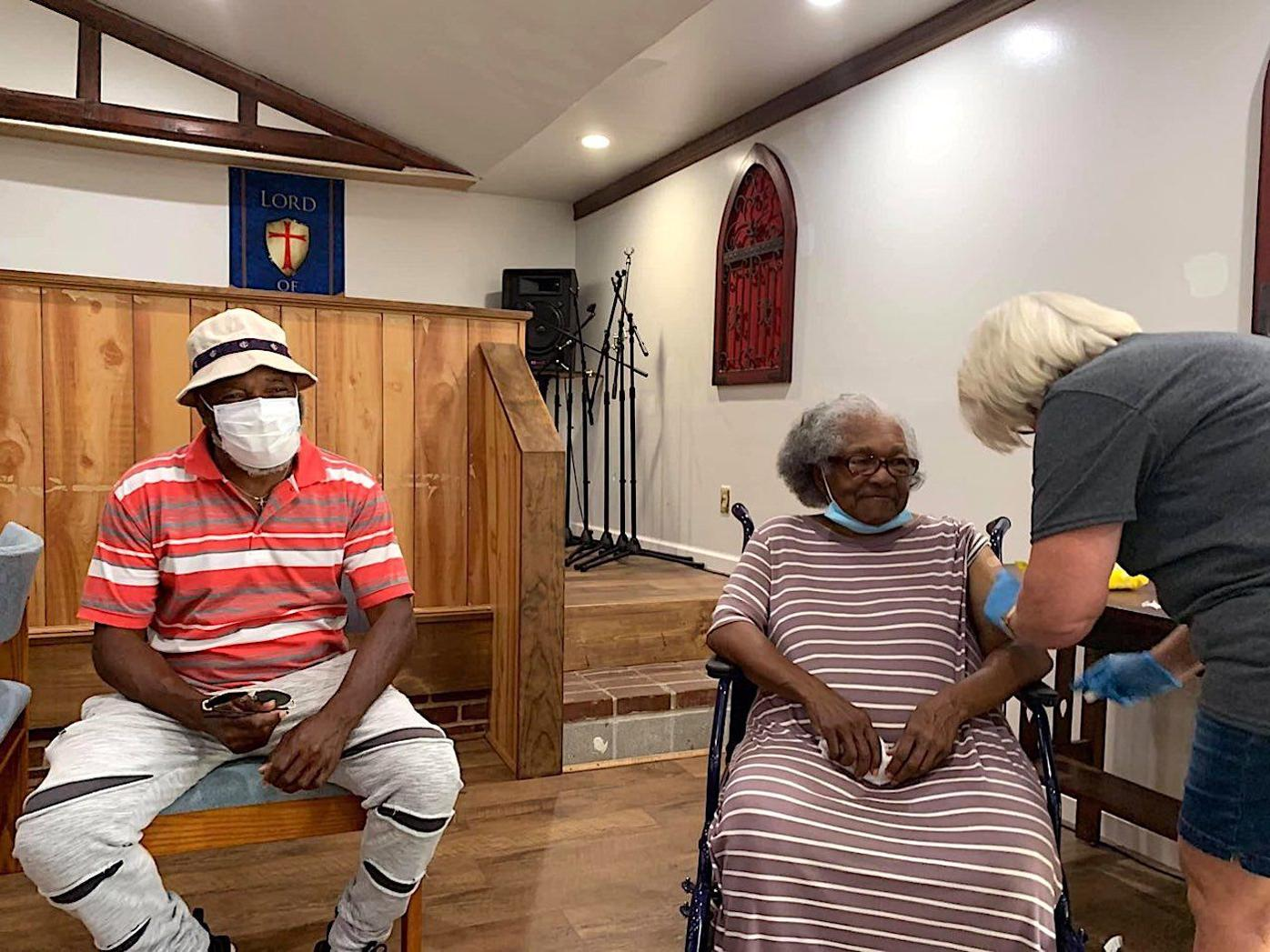 St. John's Holiness Church hosts another COVID-19 vaccination clinic