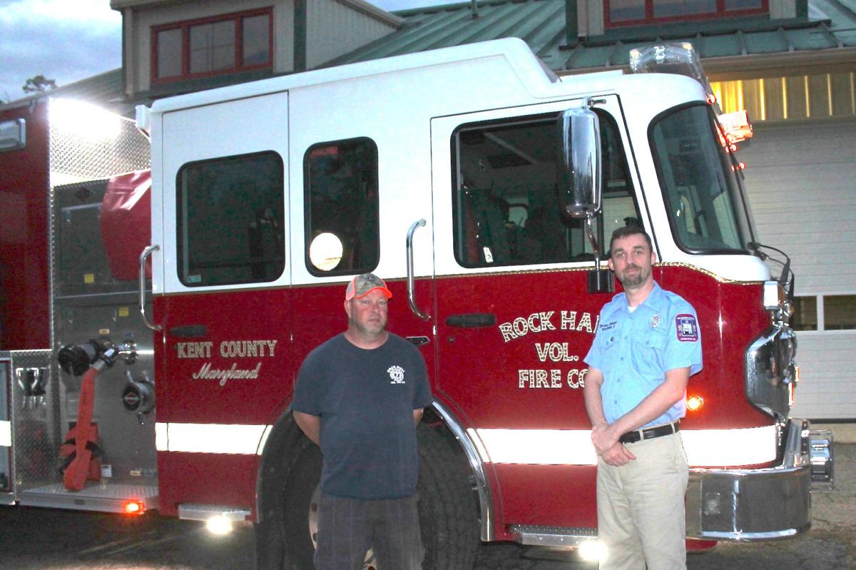 Rock Hall Volunteer Fire Company Dedicates Engine In Memory Of Jack