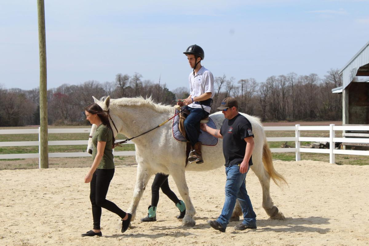 Talbot Special Riders Trots Out New Name Positive Strides