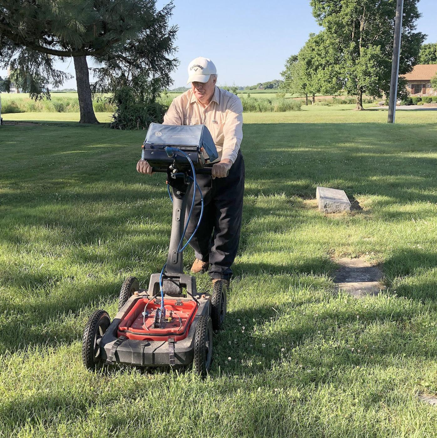 64 unmarked graves found at old local cemetery