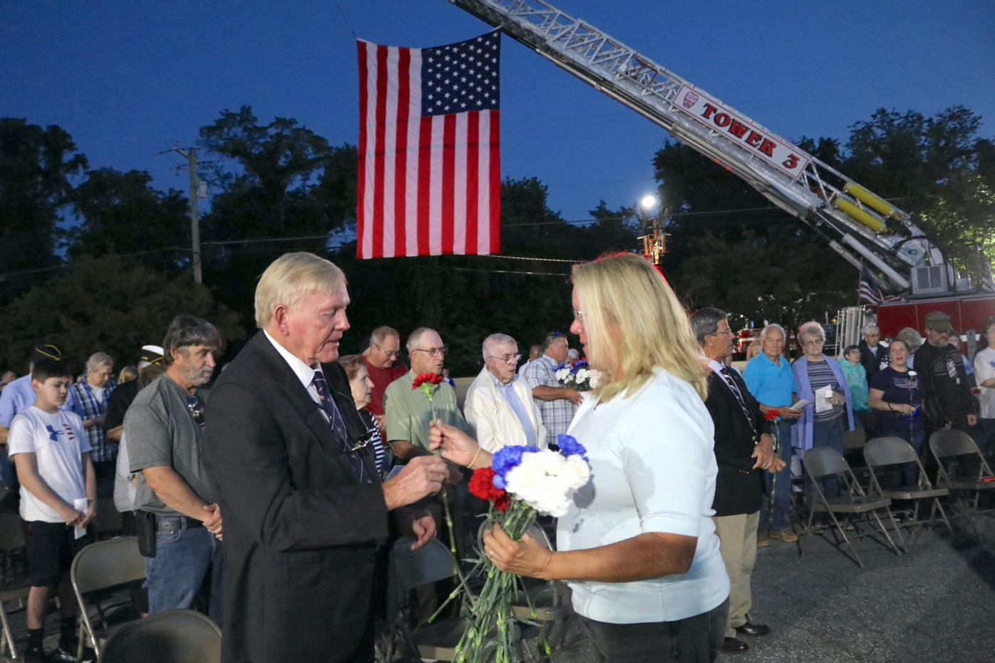 Towns remember 9/11 attacks 20 years later