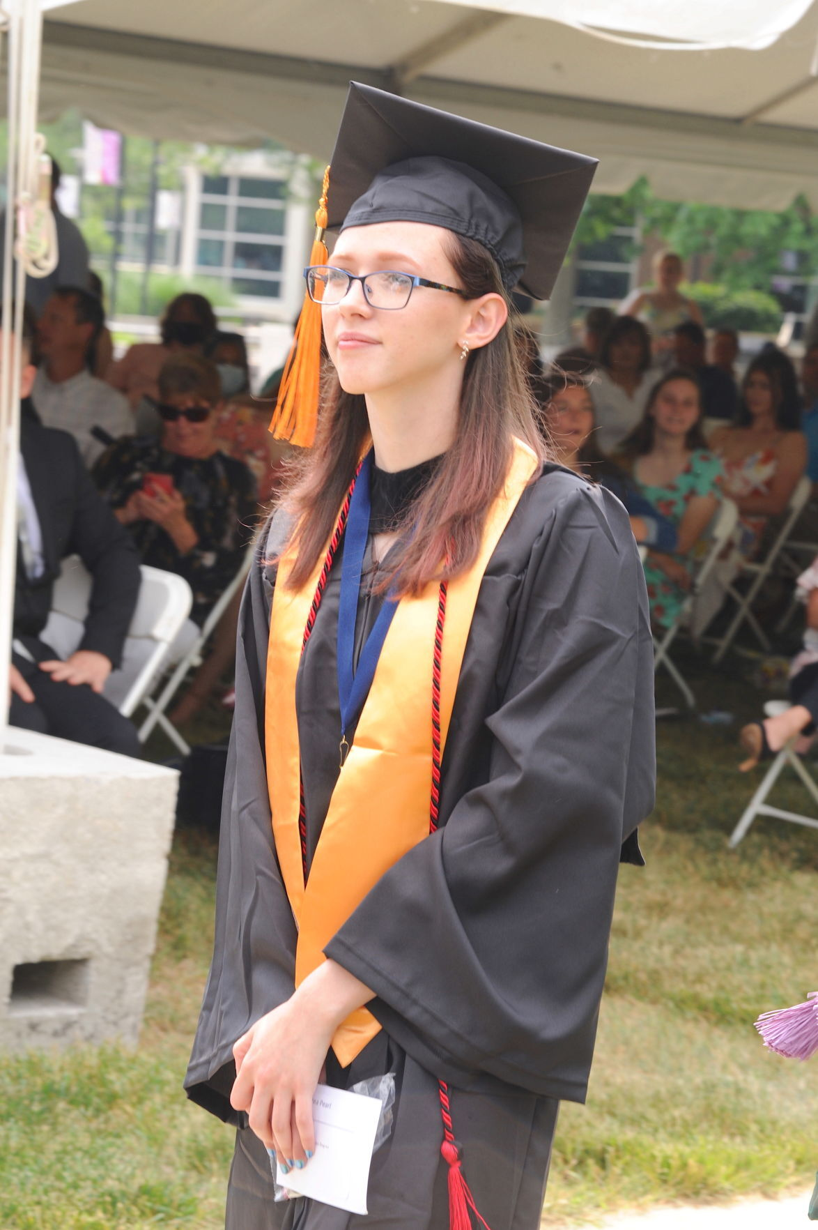 Chesapeake College graduates honored in outdoor ceremonies