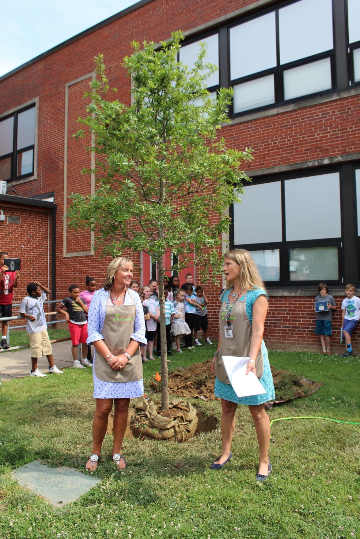 Community celebrates Garnet Good Seeds Project