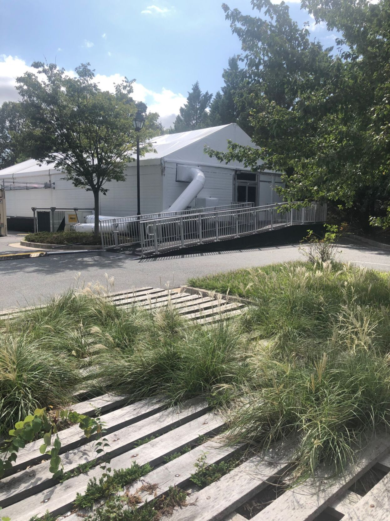 Mid-Shore hospital's COVID-19 tents sit idle for lack of staff