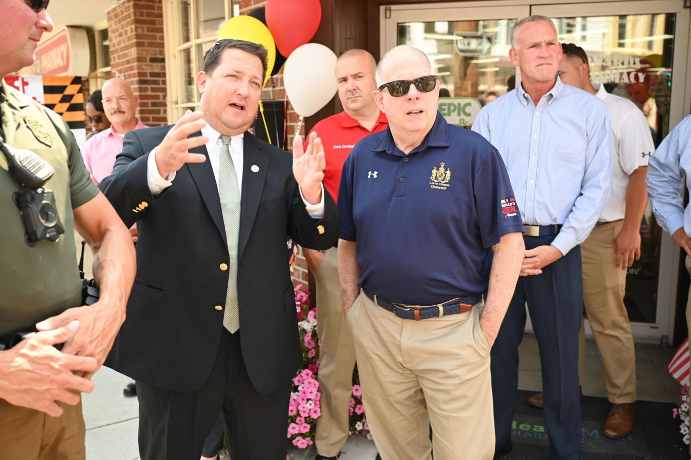 Governor visits Centreville