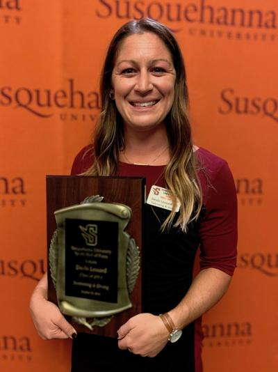Lessard is hall of fame swimmer at Susquehanna University