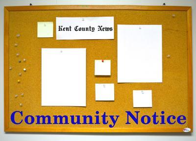 Community notice