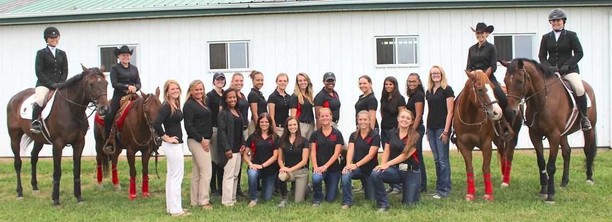 Dsu Equestrian Team Gets New Training Facility Queen