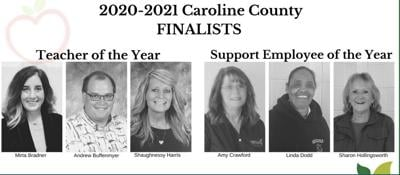 Finalists for Teacher of the Year and Support Employee of the Year