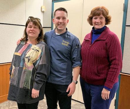 Garden club welcomes food network chef