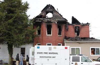 High Street fatal fire investigators